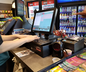 Convenience Store Cash Register/POS (Point of Sale) System