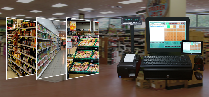 Grocery Store Cash Register Pos System Canada Bc Alberta